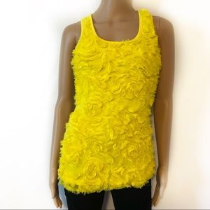Absolute Angel Bright Yellow Tanktop